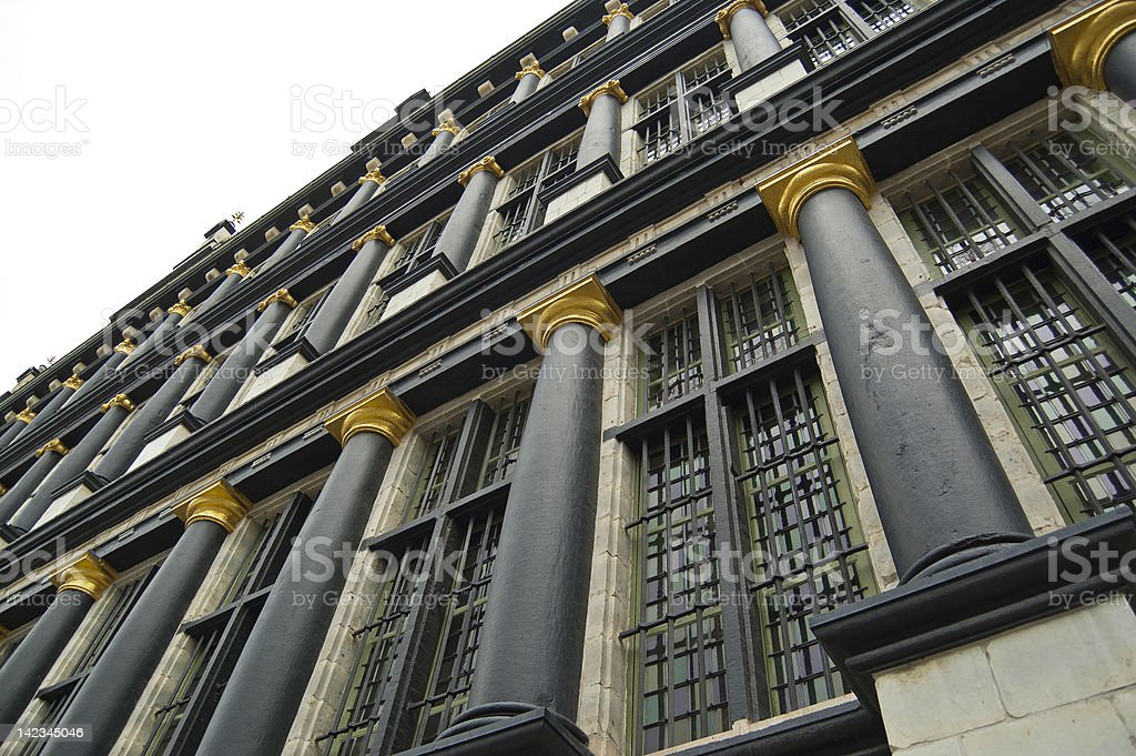 City hall of Ghent, Belgium royalty-free stock photo