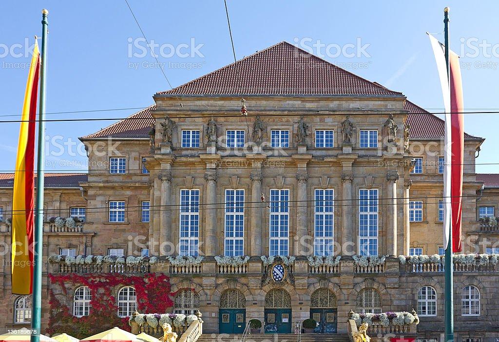 City Hall of Kassel (Germany) stock photo