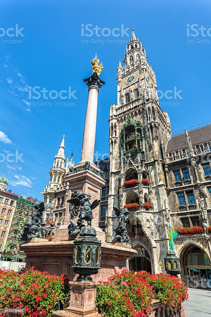 City Hall of Munich stock photo