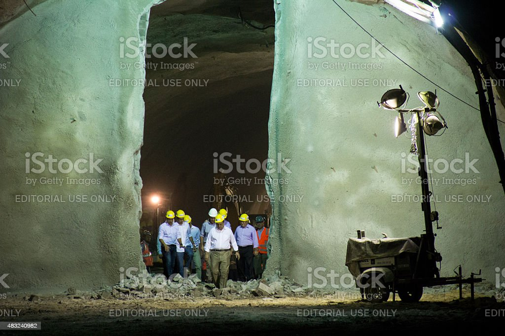City Hall of Rio presents Transolimpica Expressway stock photo