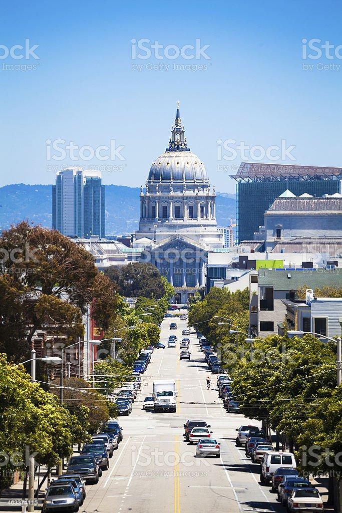 City Hall of San Francisco, California stock photo