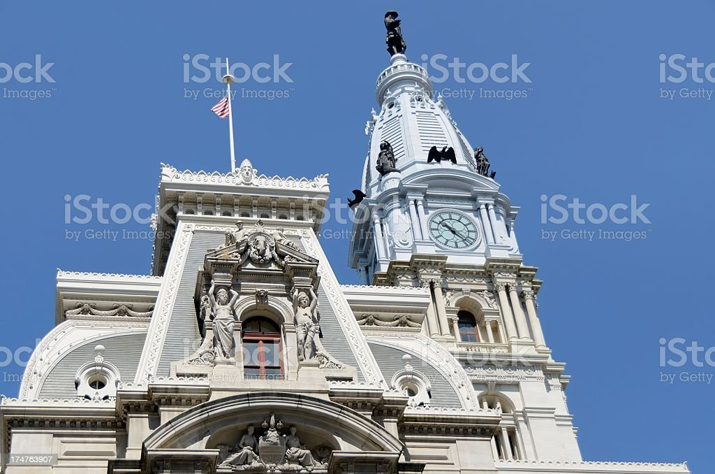 City Hall, Philadelphia royalty-free stock photo