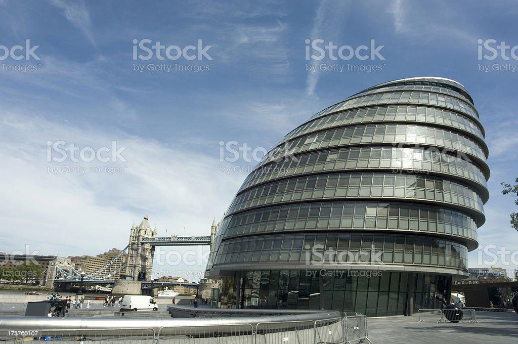 City Hall royalty-free stock photo