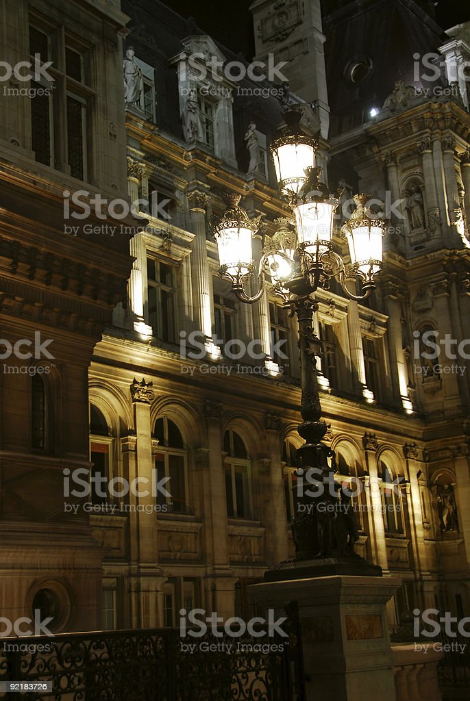 Hotel de Ville royalty-free stock photo