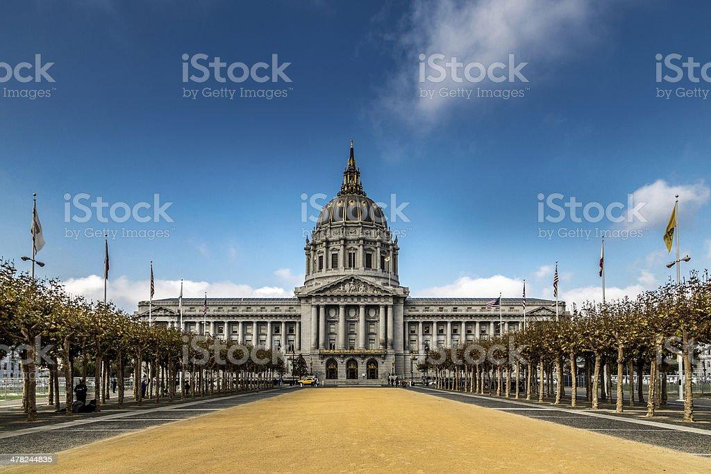 City Hall, San Francisco stock photo