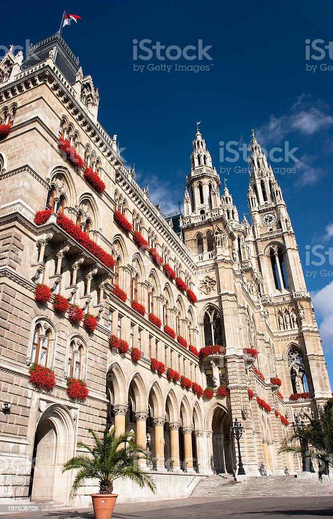 City Hall - Wien stock photo