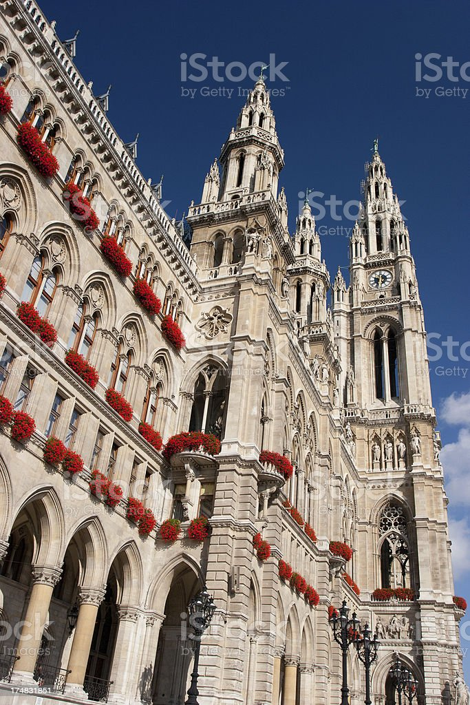 City Hall - Wien royalty-free stock photo