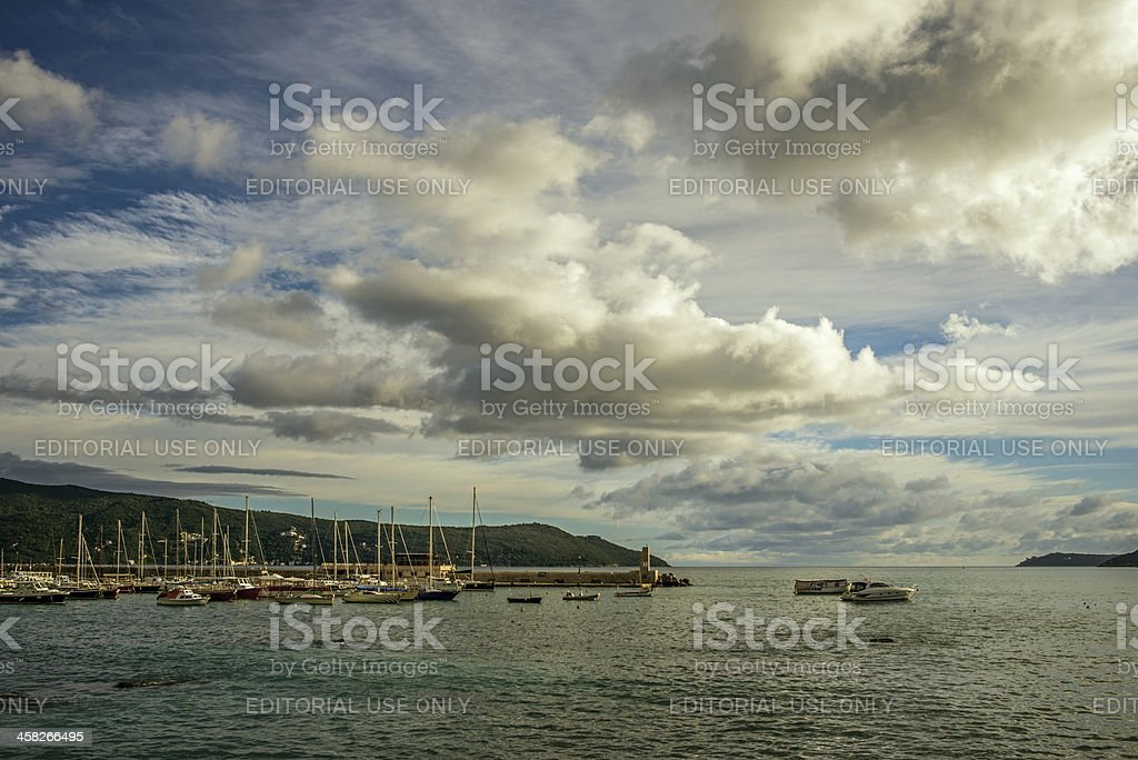 City Harbour - Herceg Novi, Montenegro royalty-free stock photo