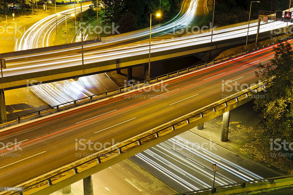 City Highway - Intersection stock photo