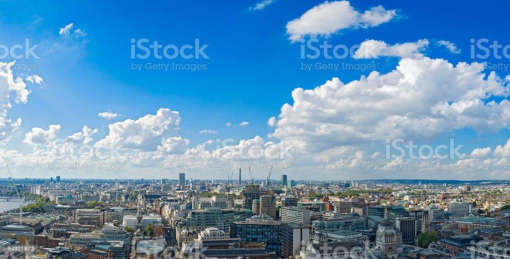 City horizon, London stock photo