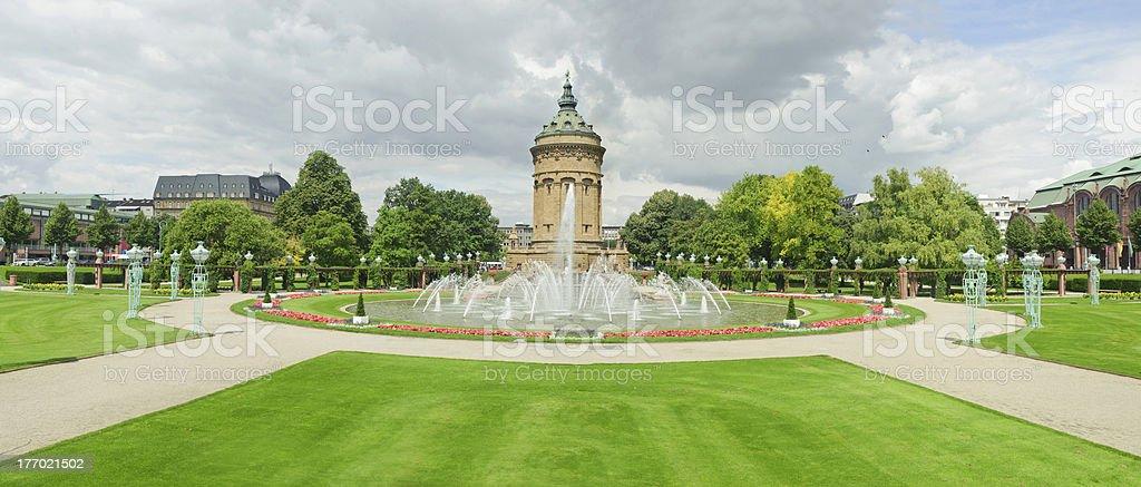 city landmark in Mannheim. stock photo