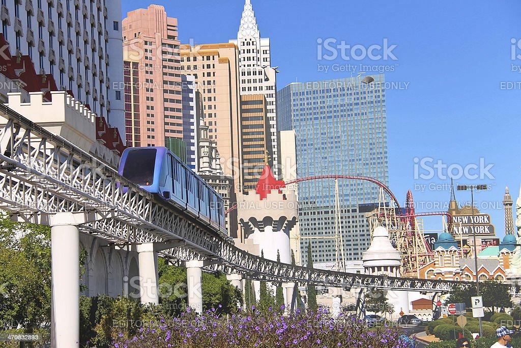 City landscape in Las Vegas, Nevada. stock photo