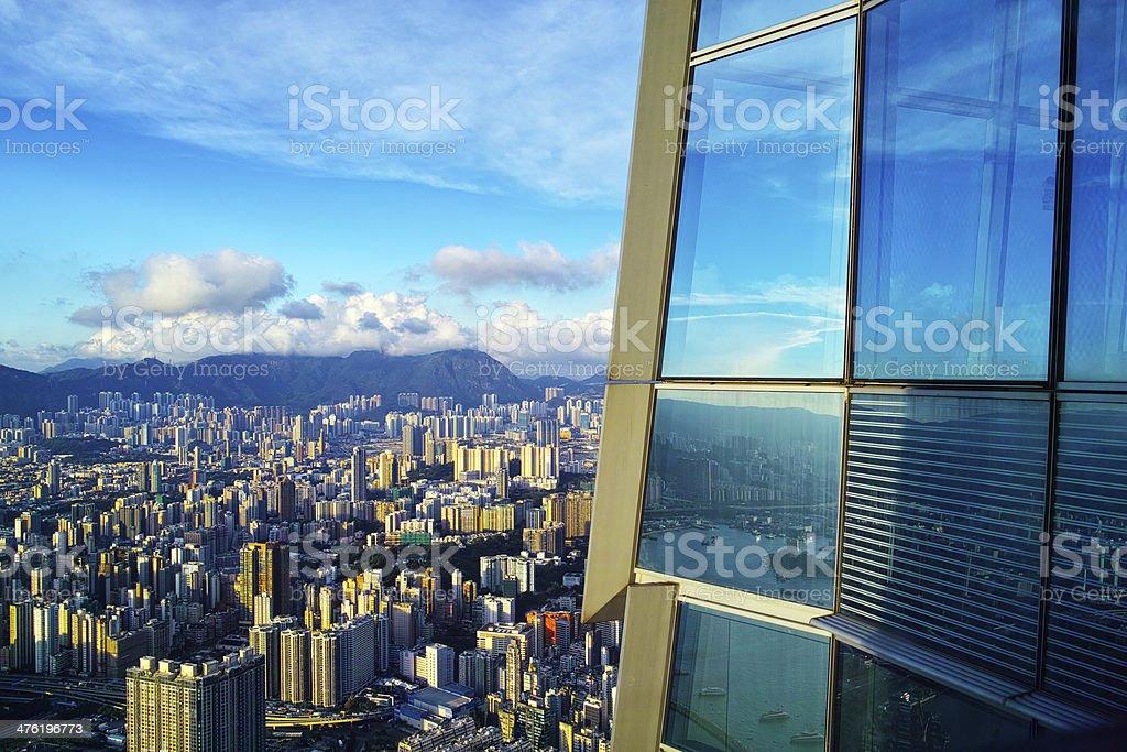 City Life Hong Kong stock photo