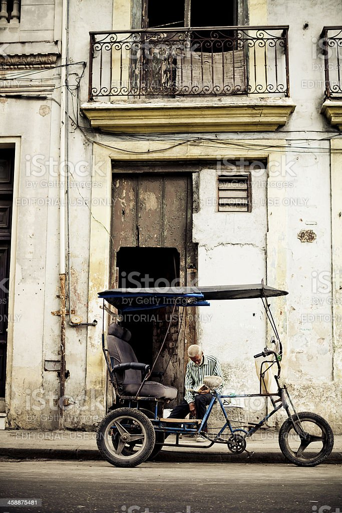 City Life In Havana royalty-free stock photo