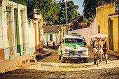 City Life in Trinidad, Cuba
