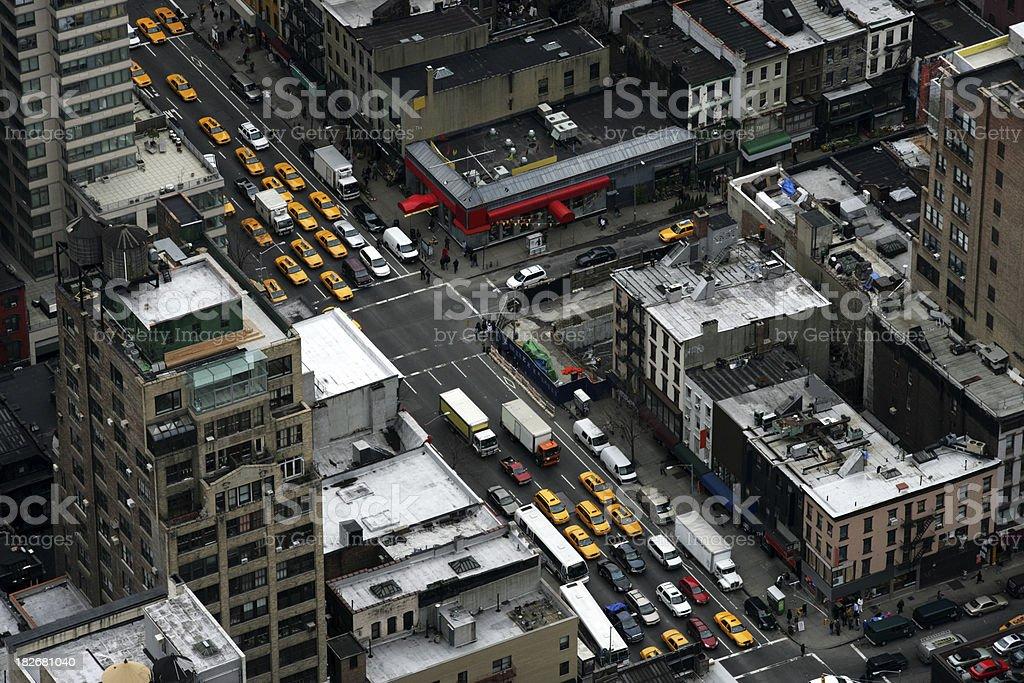 City life (New York) royalty-free stock photo