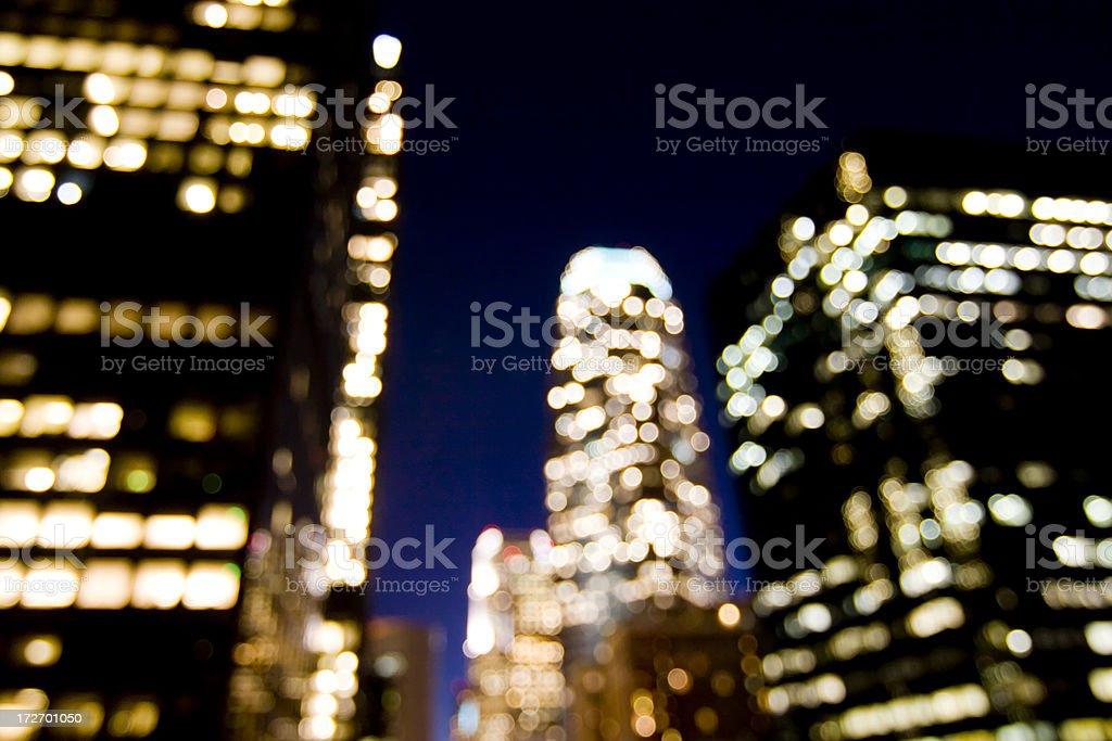 City Lights royalty-free stock photo