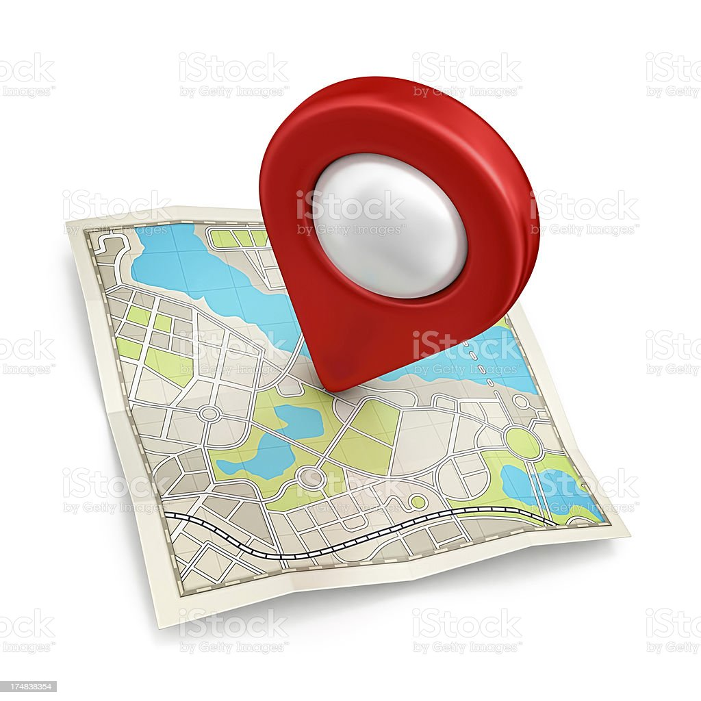 city map royalty-free stock photo
