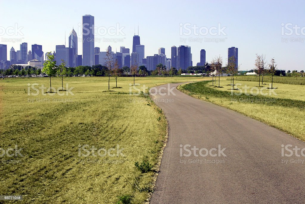 City Meets Nature royalty-free stock photo