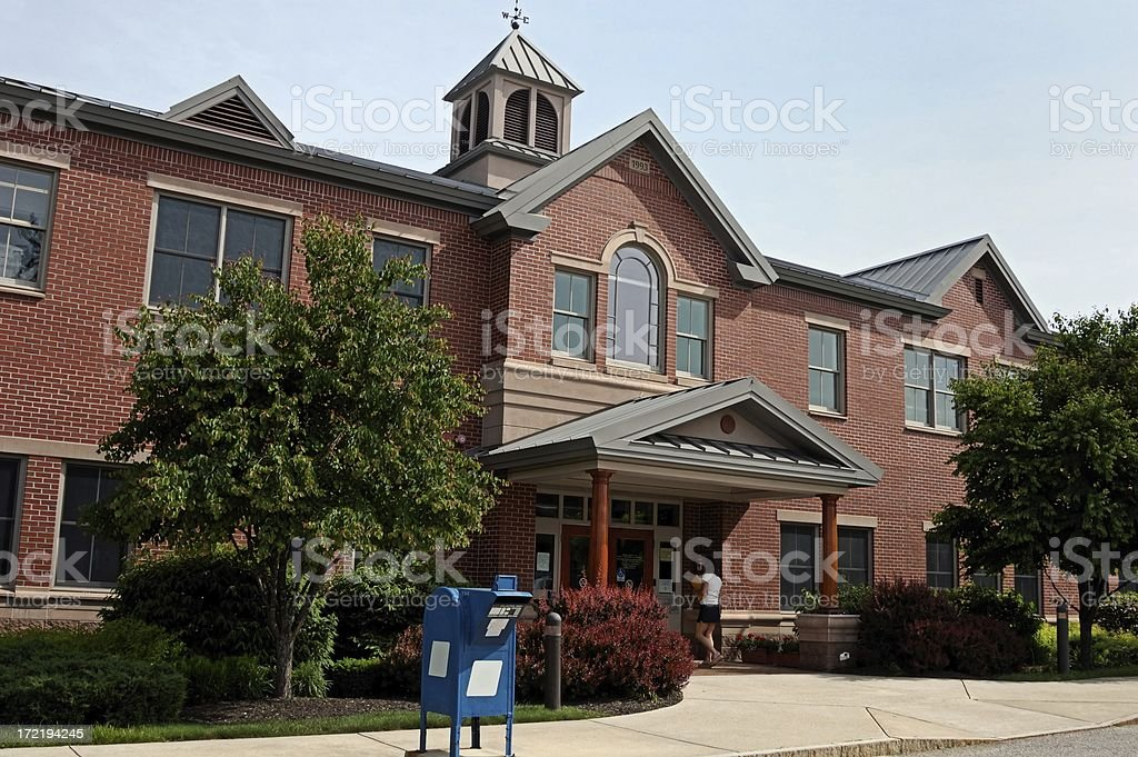 city munical building royalty-free stock photo