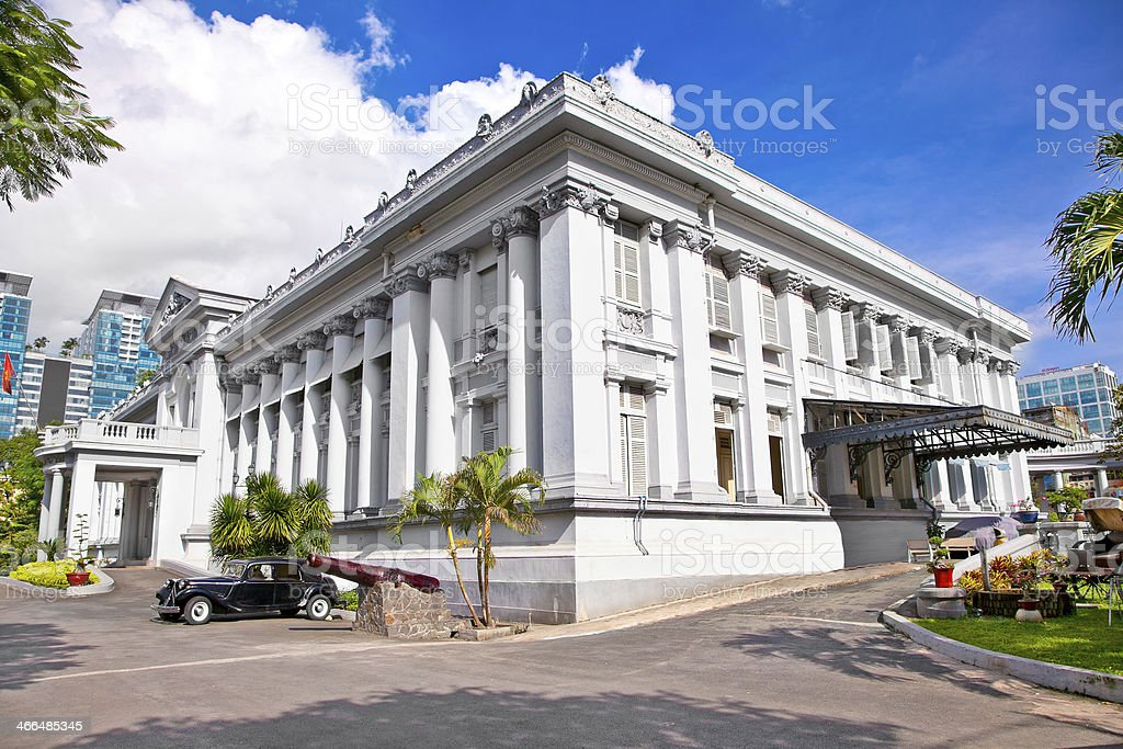 City Museum building in Ho Chi Minh , Vietnam. royalty-free stock photo