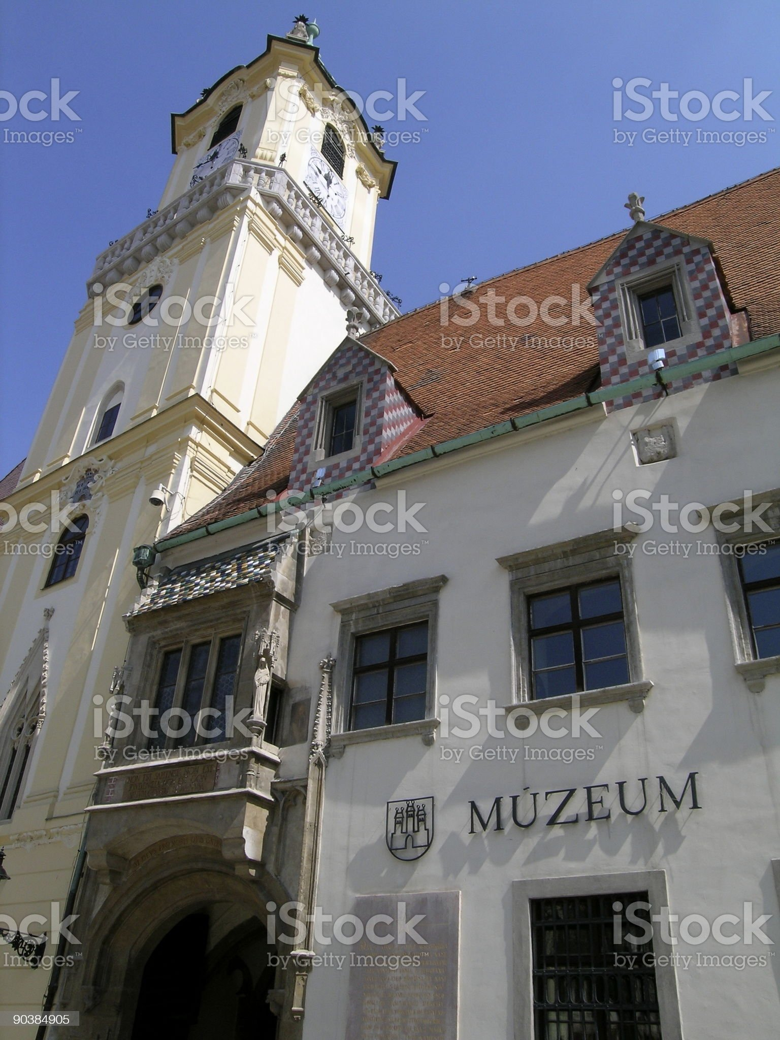 City Museum in Bratislava, Slovakia royalty-free stock photo