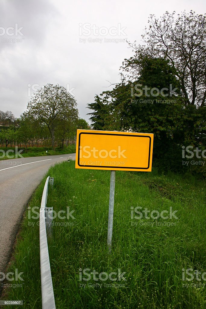 city name sign royalty-free stock photo