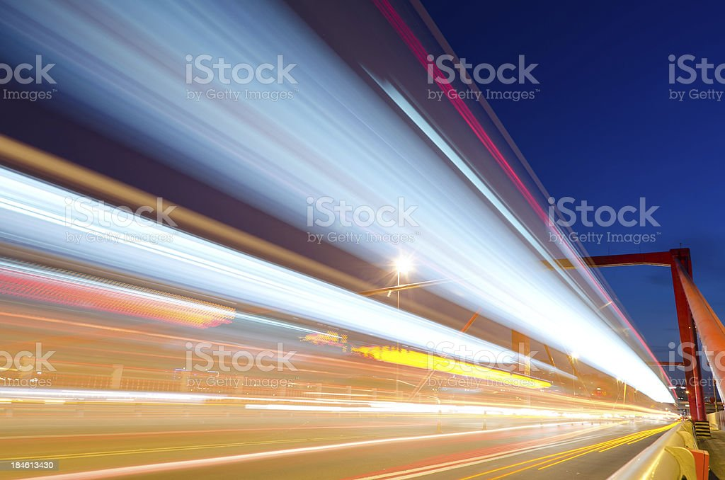 City night scenery royalty-free stock photo