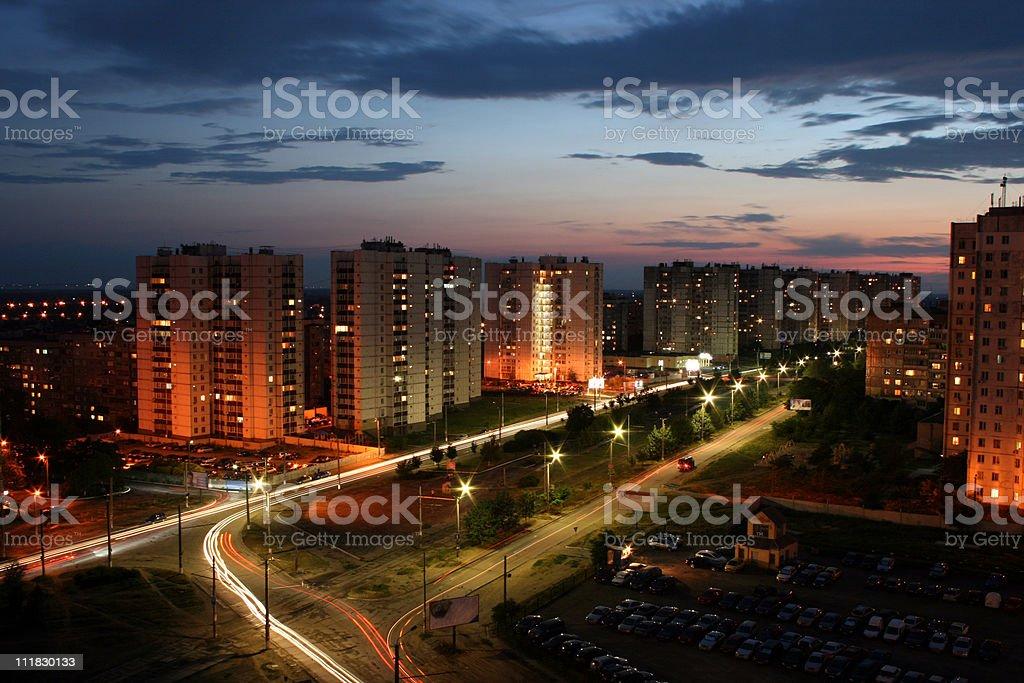 city 밤생활 royalty-free 스톡 사진