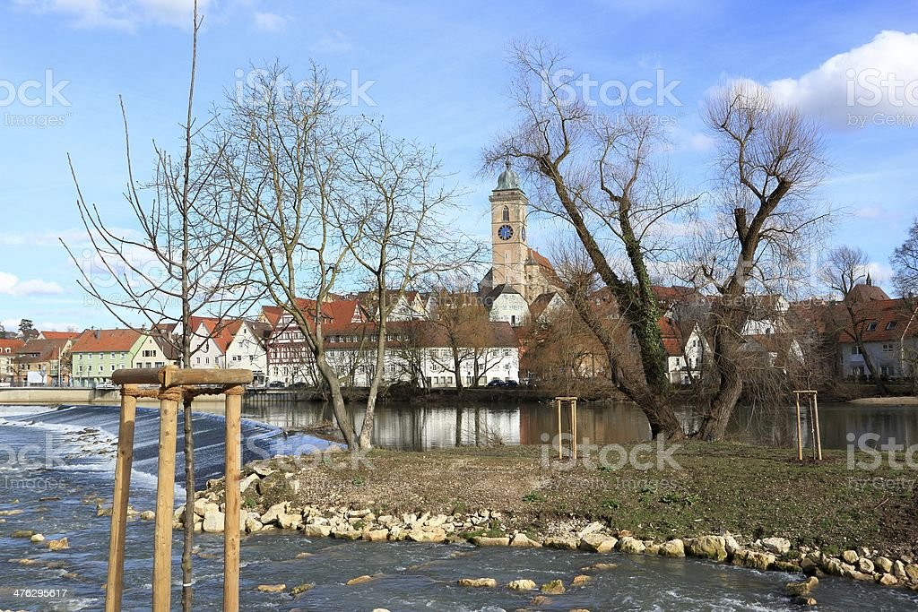 City Nuertingen/Germany royalty-free stock photo