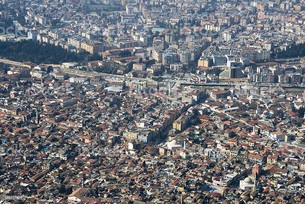 City of Antakya (Hatay), Turkey royalty-free stock photo