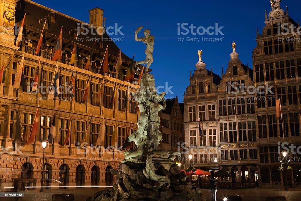 City of Antwerp stock photo