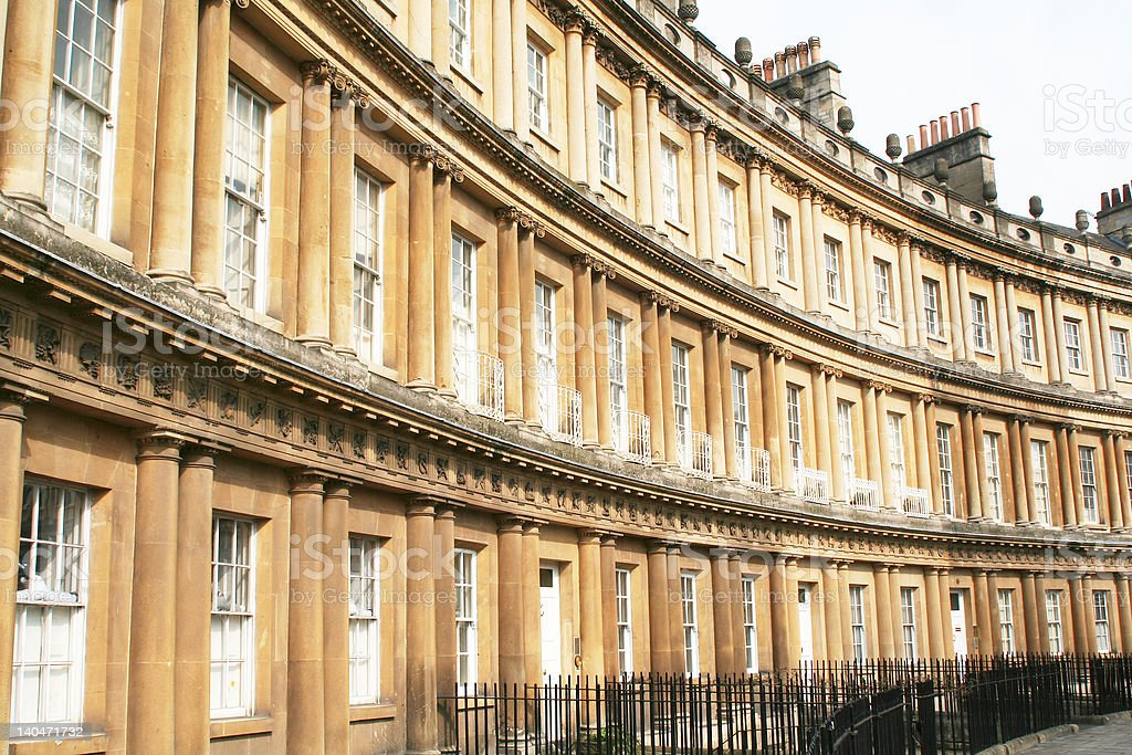 City of Bath royalty-free stock photo