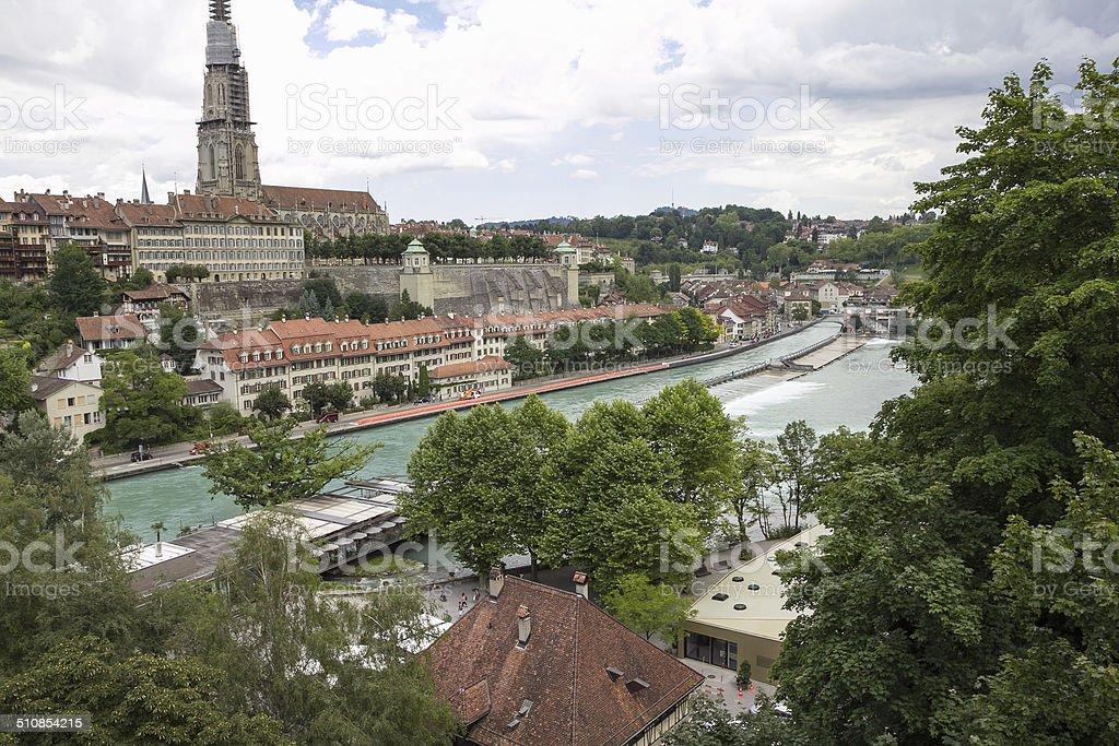 City of Bern royalty-free stock photo