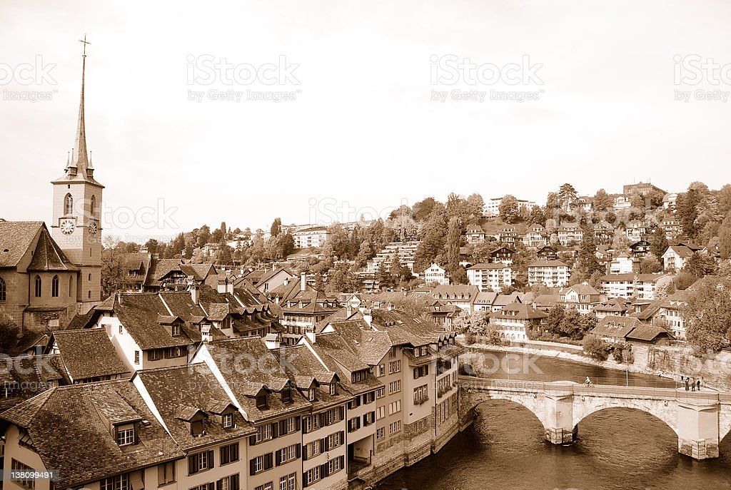 City of Berne royalty-free stock photo