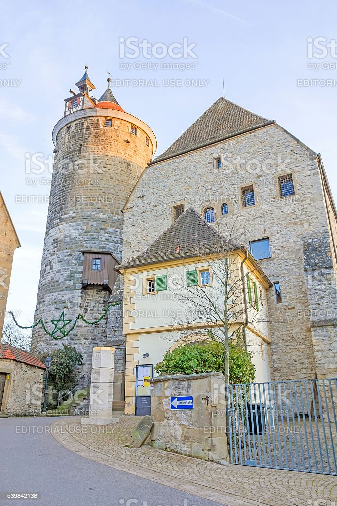 City of Besigheim stock photo