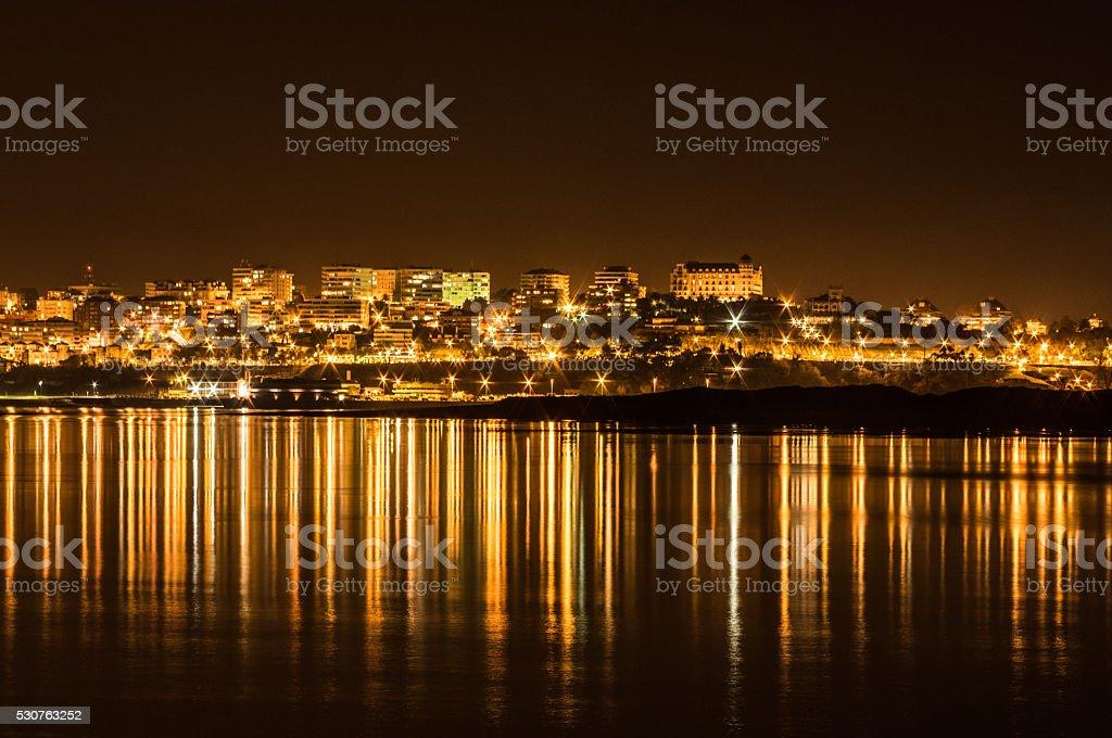 City of Blinding Lights stock photo