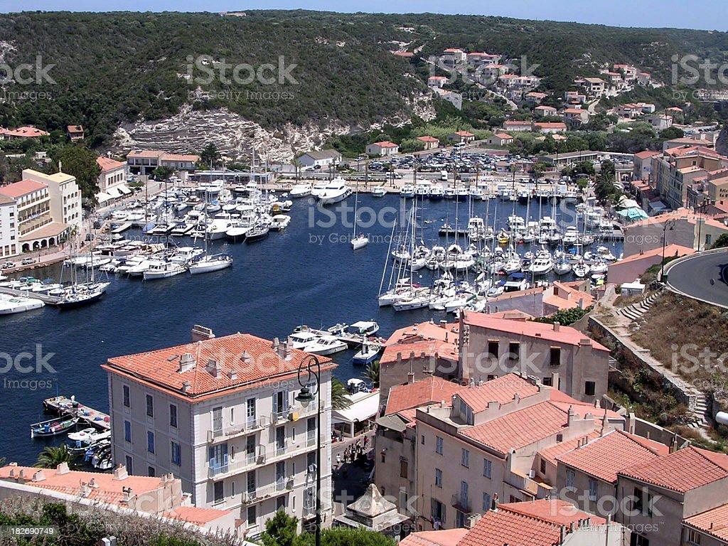 City of Bonifacio, Corsica stock photo