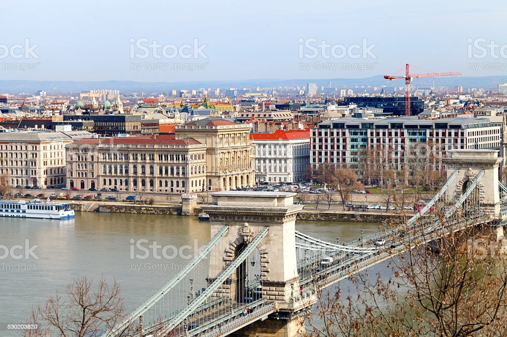 City of budapest stock photo