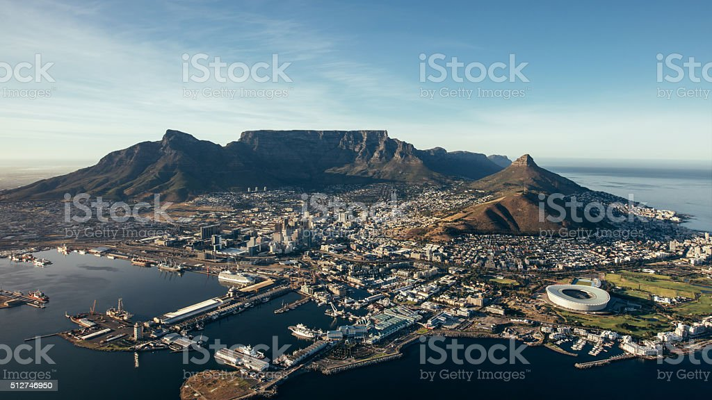 City of Cape Town, South Africa stock photo
