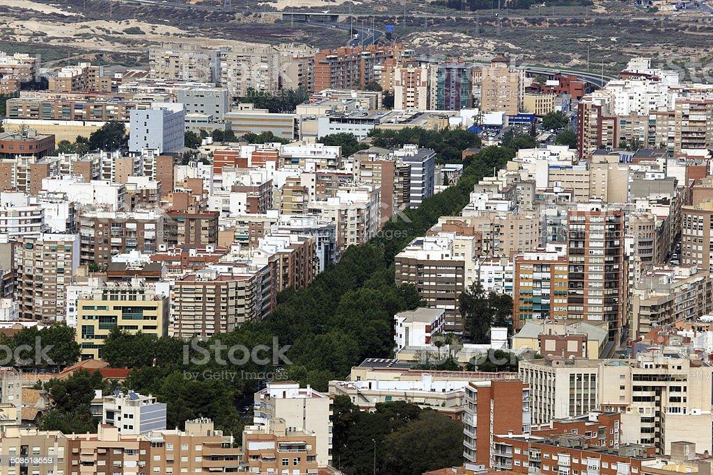 City of Cartagena, Spain stock photo