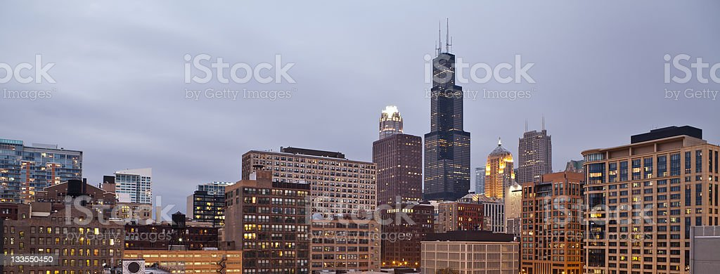 City of Chicago. royalty-free stock photo