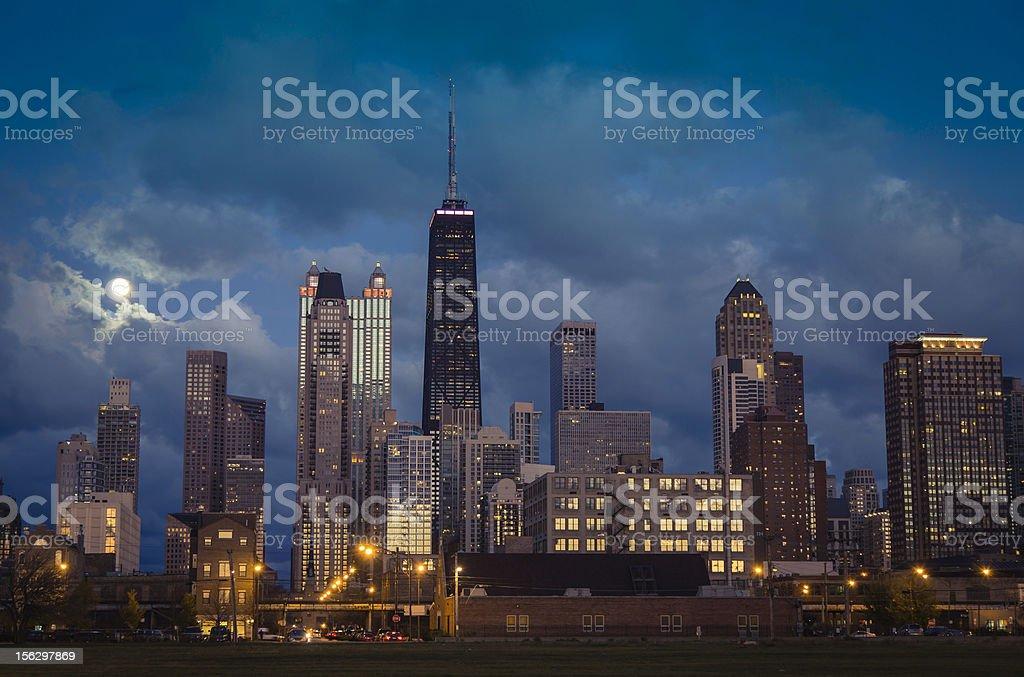 City of Chicago skyline royalty-free stock photo