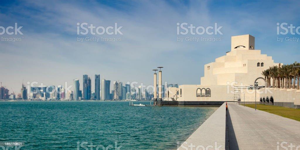 City of Doha stock photo