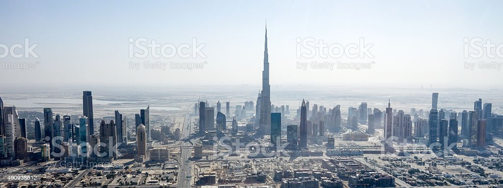City of Dubai stock photo