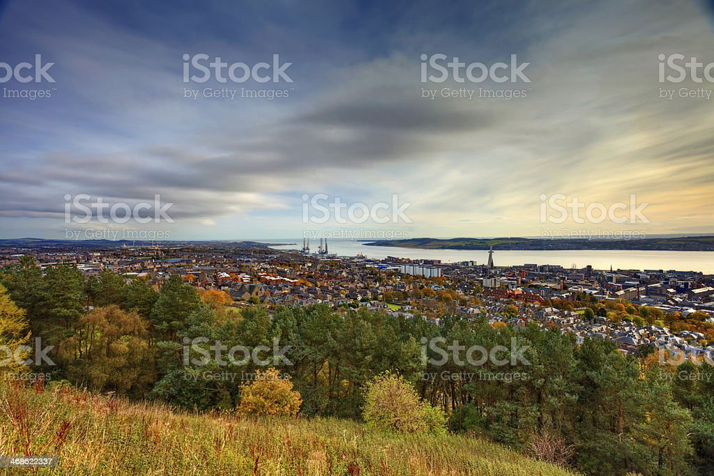 City of Dundee, Scotland stock photo