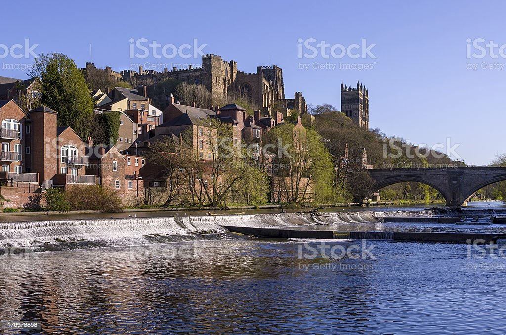 City of Durham stock photo