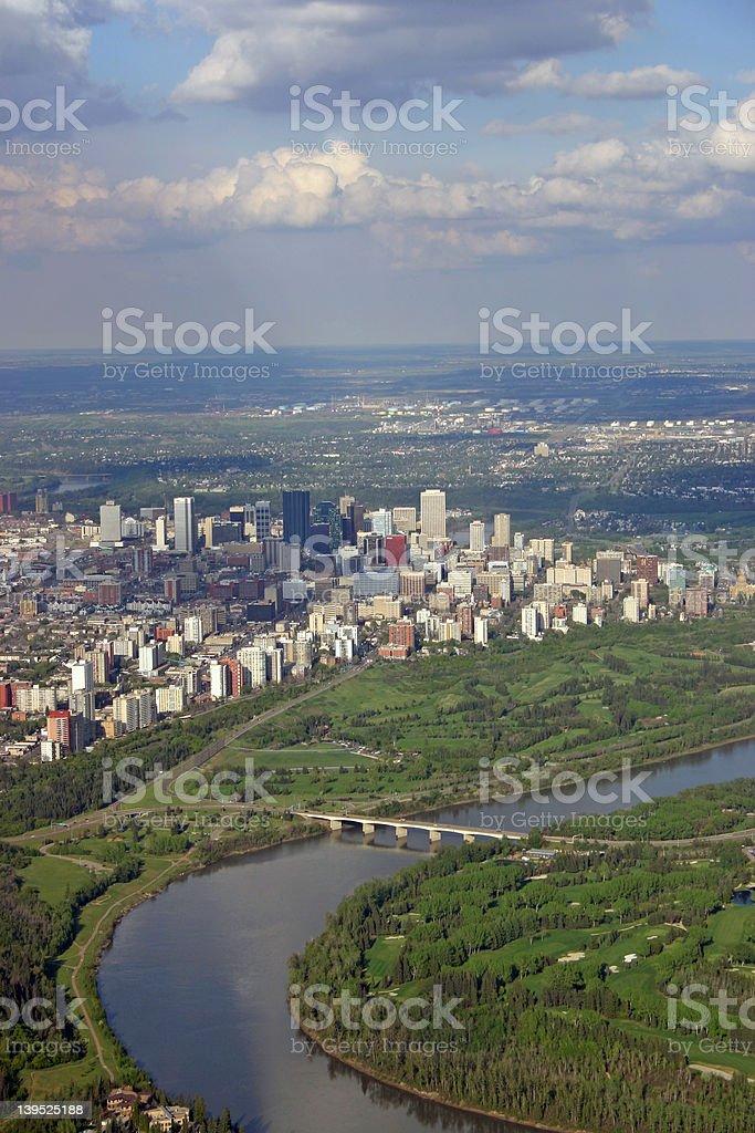 City of Edmonton stock photo