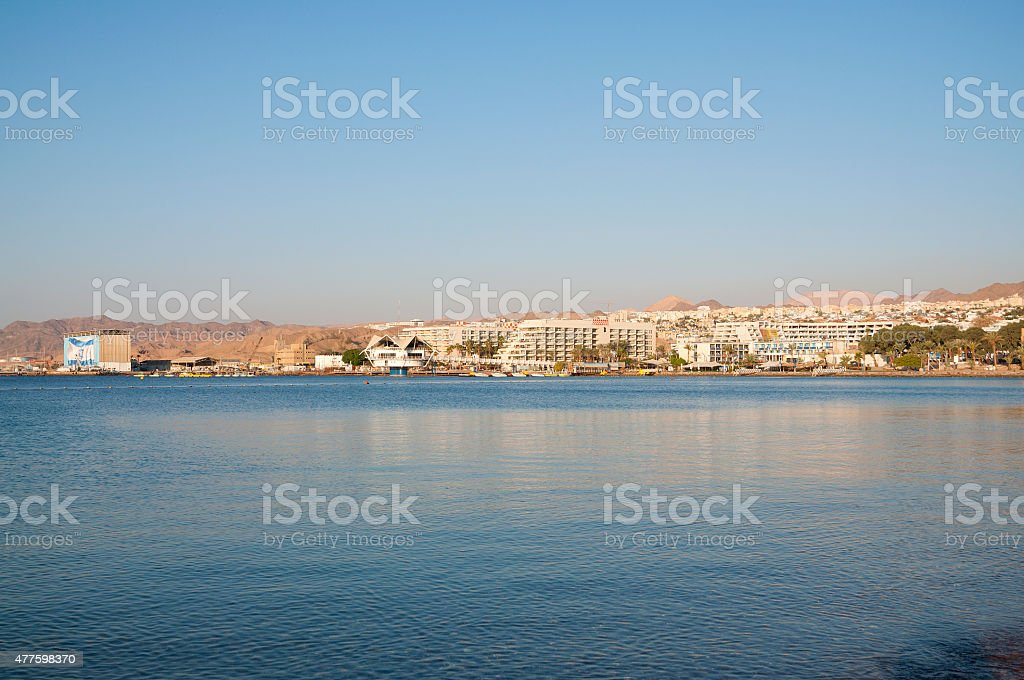 City of Eilat, Israel stock photo
