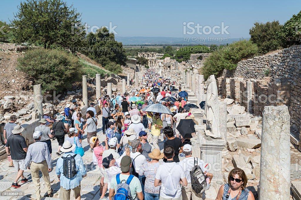 City of Ephesus, Kusadasi, Turkey stock photo